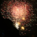 Fire works in Aspen