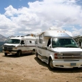 Motorhomes at Independence Pass