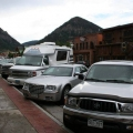 Main street in Frisco, Colorado