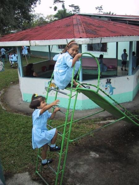 School girls on the slide.jpg