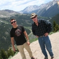 "Dave and Pat at ""Independence Pass"""