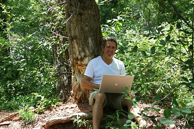 Dave working from Anywhere