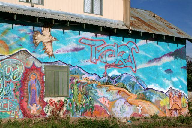 Mural in Northern New Mexico