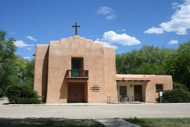Church in Taos New Mexico