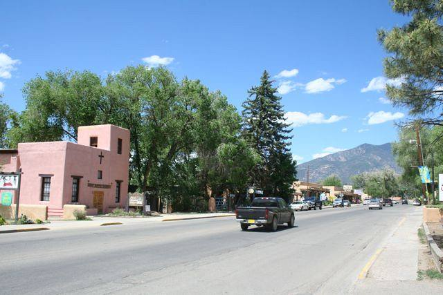 Street in Taos New Mexico