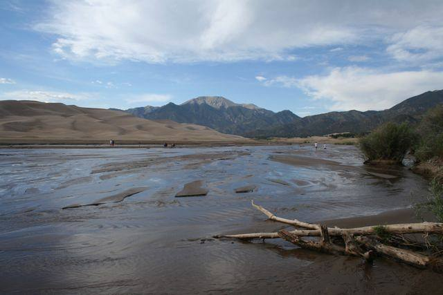 River in Great Sand Dunes National Park