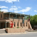 Building in Taos New Mexico