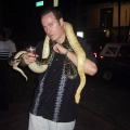 Pat with snake on him in South Beach.jpg