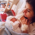 Maria with new born Rick jr.jpg