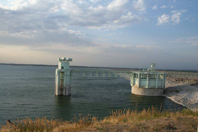 Dam on the North Platte River