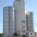 Giant silos in Nebraska