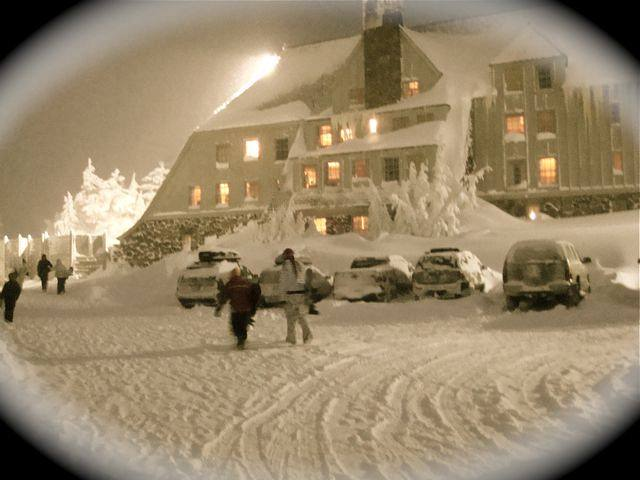 Timberline Lodge, Mount Hood, Oregon